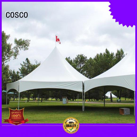 COSCO party tent experts rain-proof