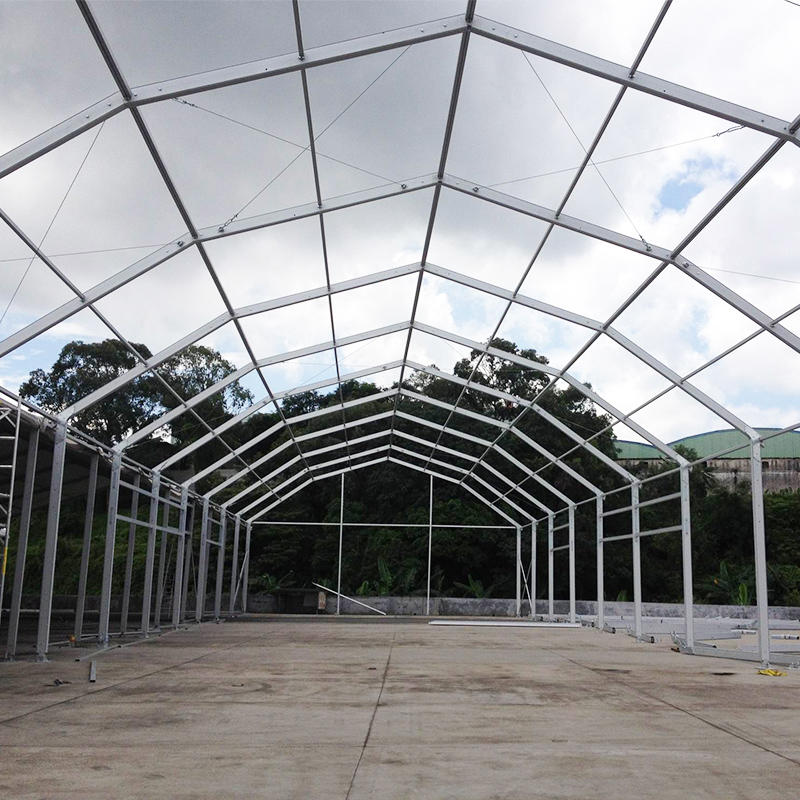 Custom Outdoor Event Large Glass Wall Marquee Wedding Party Tent