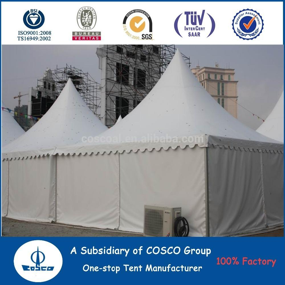 COSCO New Design Outdoor Aluminium Profile Pagoda House Tent For Wedding Party