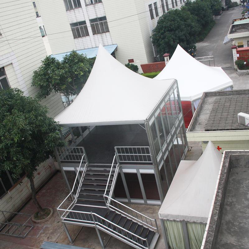 COSCO Aluminum structure Garden waterproof house tent resort double layer living tent