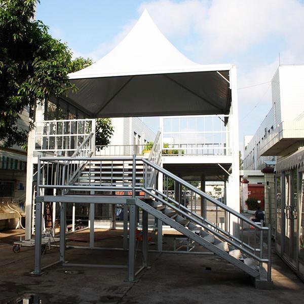 COSCO Outdoor Double Storey Marquee Tent VIP Lounge Tent Permanent Luxury Resort Tent