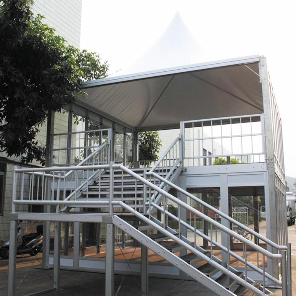 COSCO custom size luxury double decker compound leisure resort tent