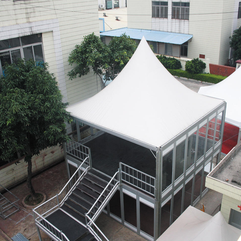 COSCO Hot sale large aluminum double decker tent for outdoor party event
