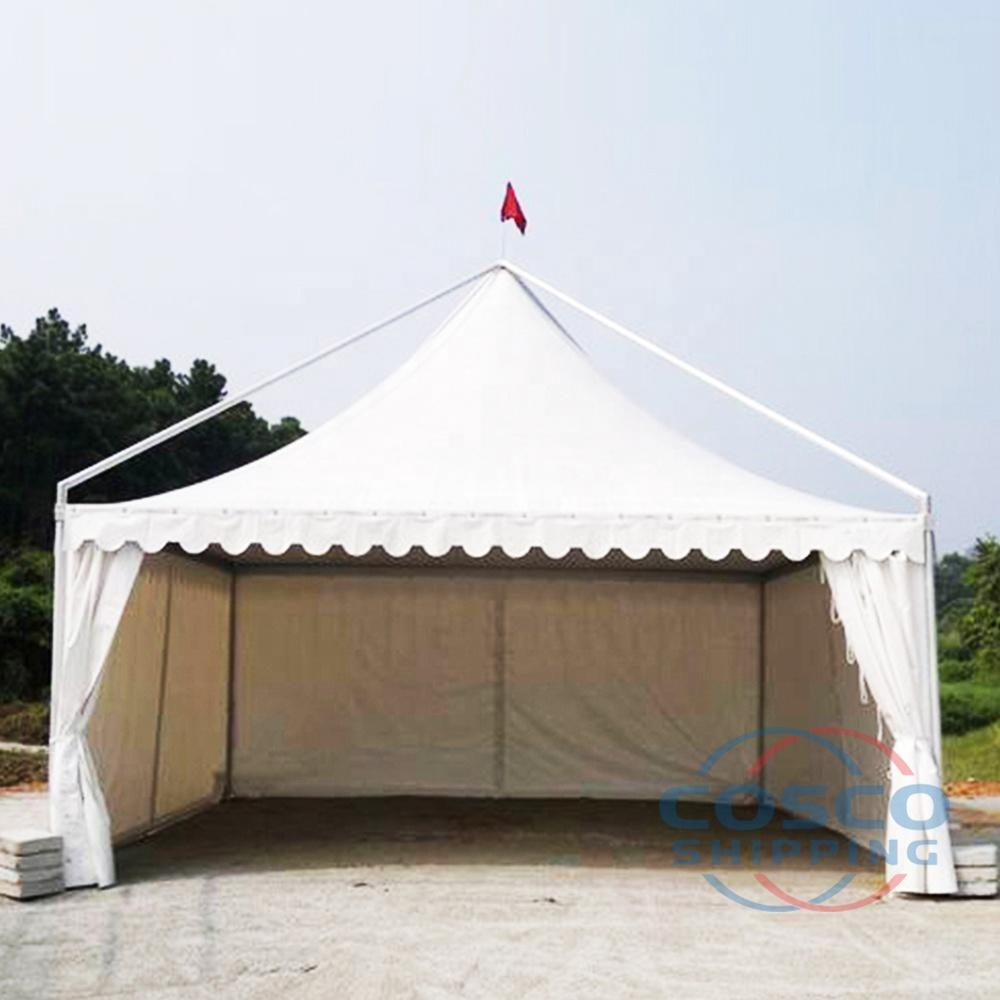 Aluminum Alloy Frame PVC Fabric Pagoda Tent 3x3 4x4 5x5 6x6 8x8 10x10 For Outdoor Event