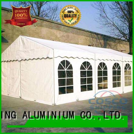 COSCO tent wedding tent vendor for engineering