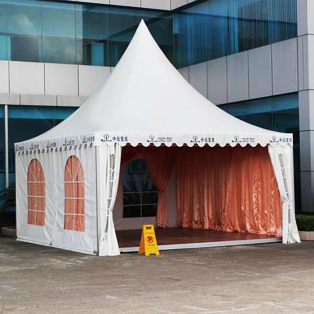 Customized Size Wind Resistant 6x6 Gazebo Tent For Outdoor Event