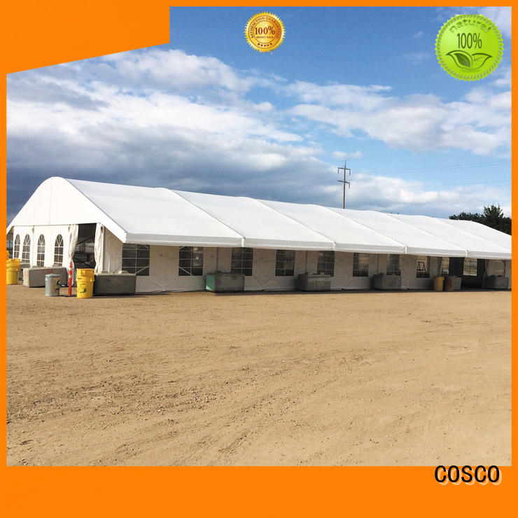 COSCO style marquee tents prices marketing rain-proof