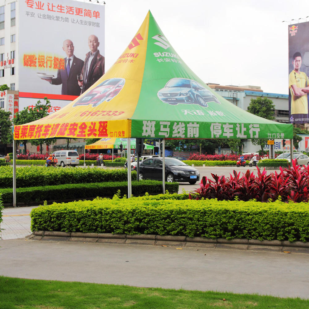 COSCO aluminium and Pvc coated small pagoda pop-up outdoor tent for garden used or wedding party