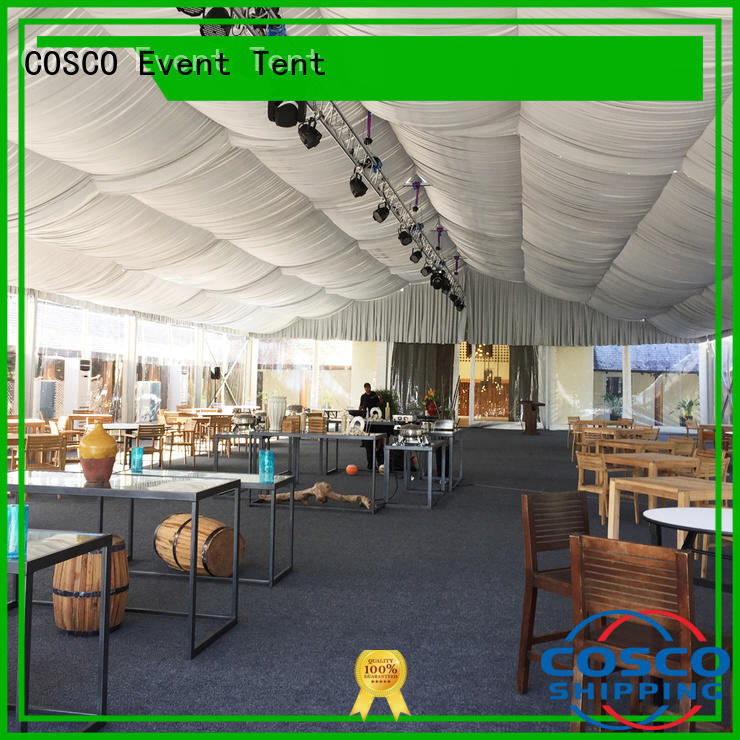 COSCO unique event tent supplier