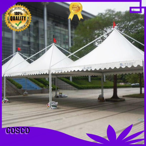 COSCO 5x5m wedding tent effectively for engineering