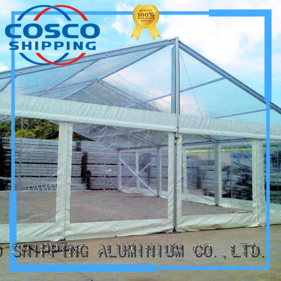 COSCO canopy structure tents type for disaster Relief