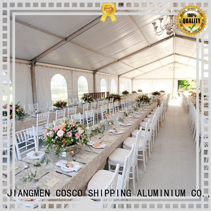 COSCO structure structure tents experts for engineering