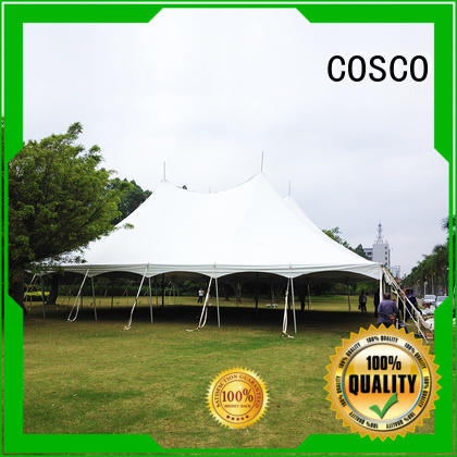 COSCO marquee wedding tents for sale in-green grassland