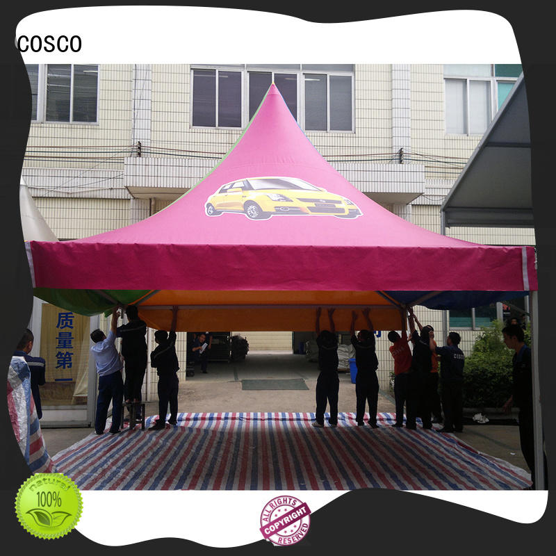 COSCO from party gazebo effectively cold-proof