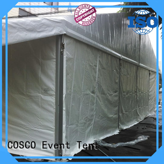 COSCO 25x60m wedding party tent marketing dustproof