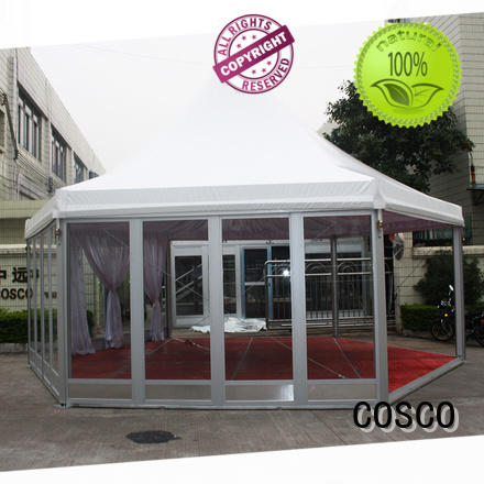 COSCO 5x5m party gazebo in-green snow-prevention
