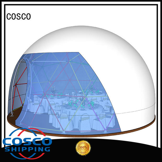 COSCO party dome tent effectively cold-proof