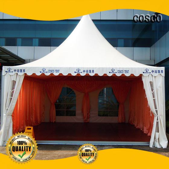 COSCO geodesic event tent China dustproof