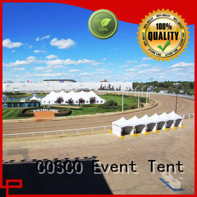 COSCO peak party tent supplier snow-prevention
