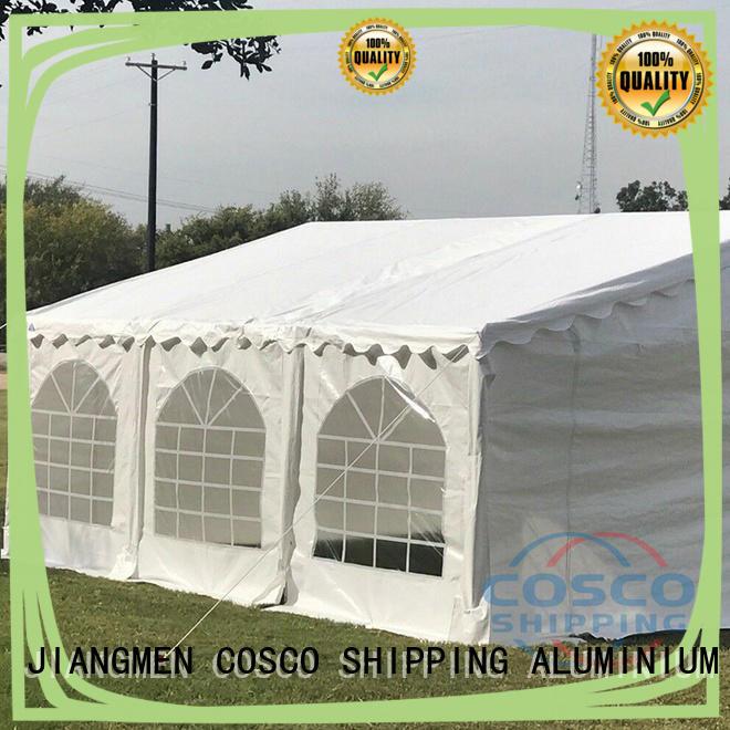 COSCO aluminum gazebo canopy tent supplier