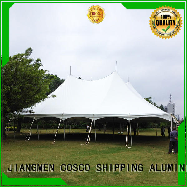 COSCO outstanding peg and pole tents for sale supply grassland