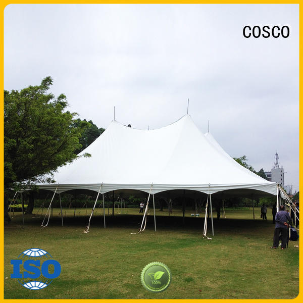 COSCO peg peg and pole tents