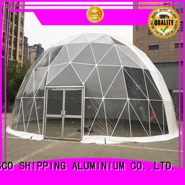 COSCO curved dome tent owner dustproof