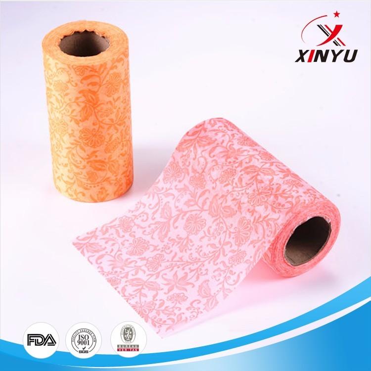 non woven viscose printed fabric