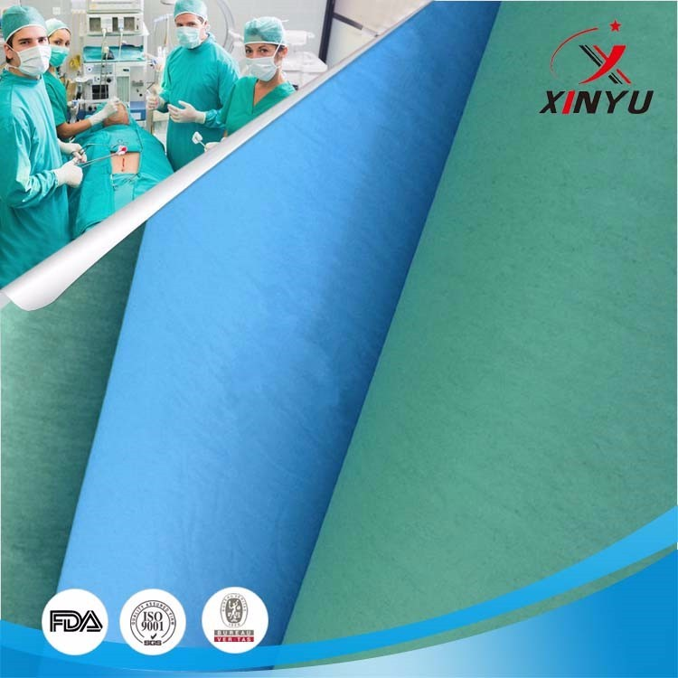 Top Selling Products Polyester Nonwoven Fabrics for Surgical Drapes