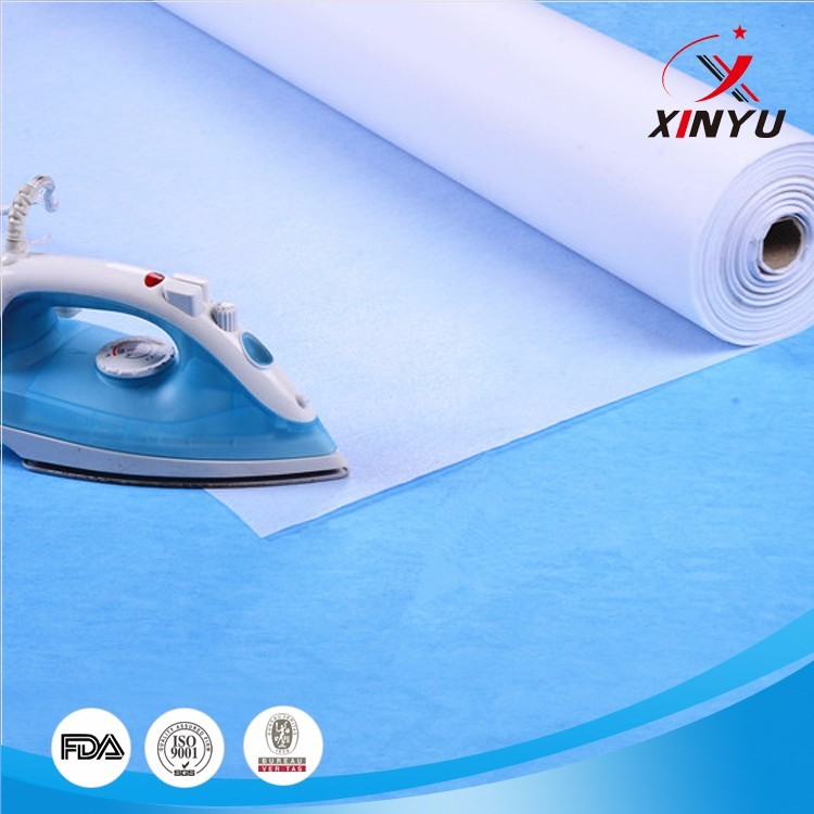 fusible non-woven fabric interlining