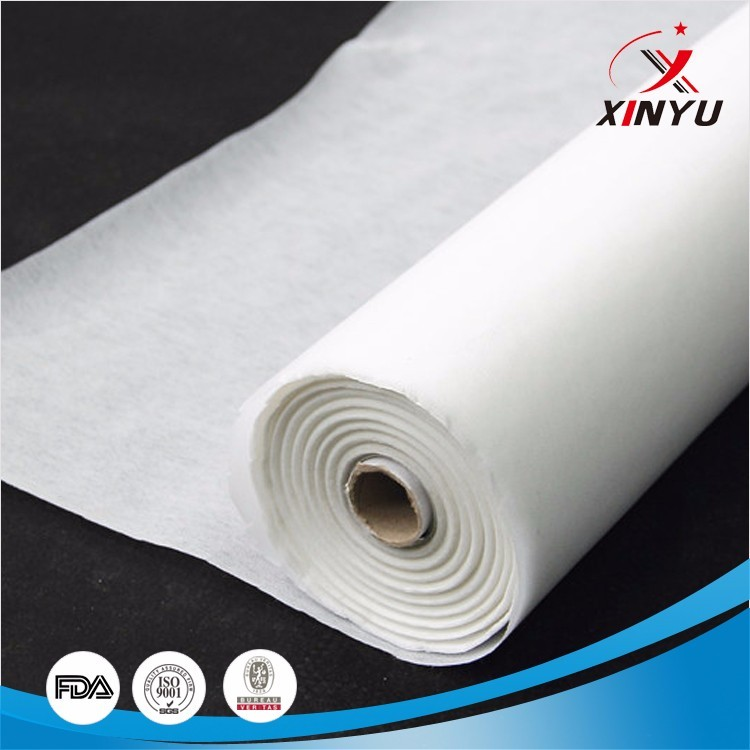 Polyester Nonwoven Fusible Interlining Fabrics for Garment Industry
