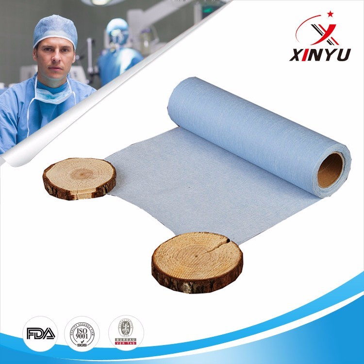 Water Resistant Spunlace Woodpulp Nonwoven Fabrics for Doctor Clothes