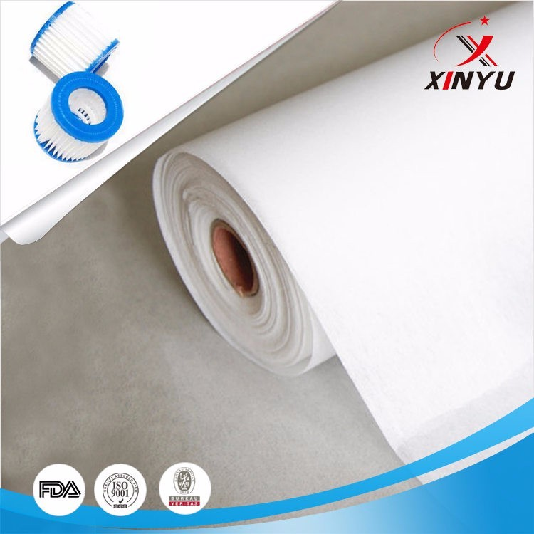 chemical bond non woven air filter paper
