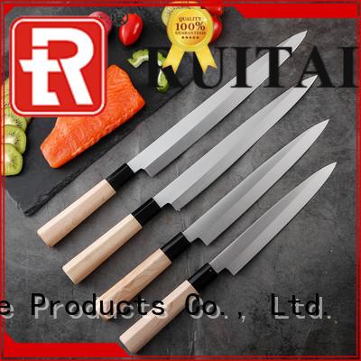 Custom sushi knife walmart maple for business for sashimi cutting