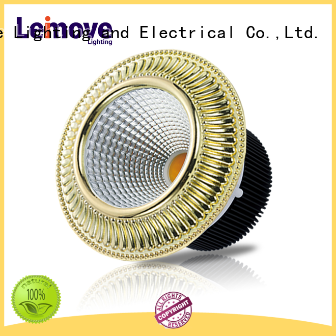 Leimove ceiling decoration led recessed downlights white milky for sale