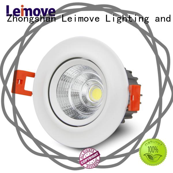 Leimove recessed slim led downlights custom made for customization