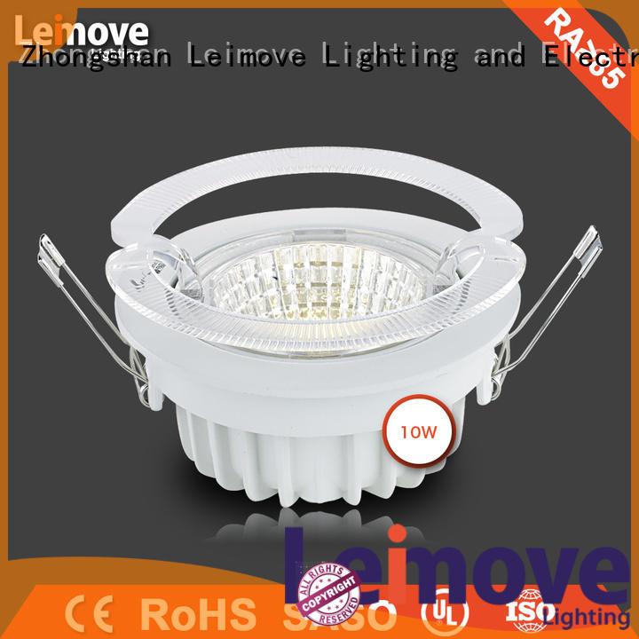 commercial illumination adjustable led downlights round custom made for customization