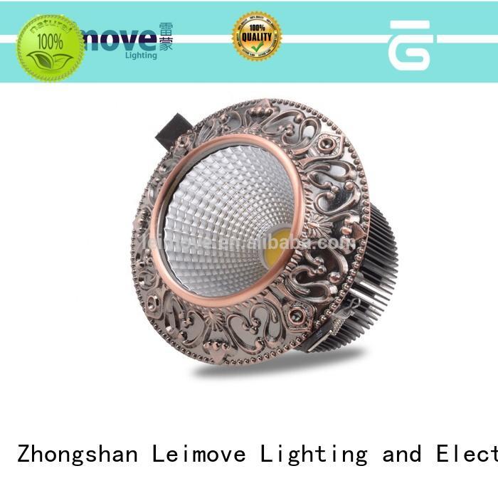 Leimove round led down light custom made for customization