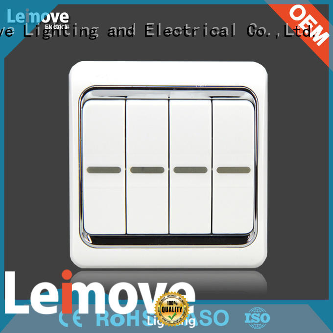 Leimove high-quality electric switch easy assembly lighting accessories