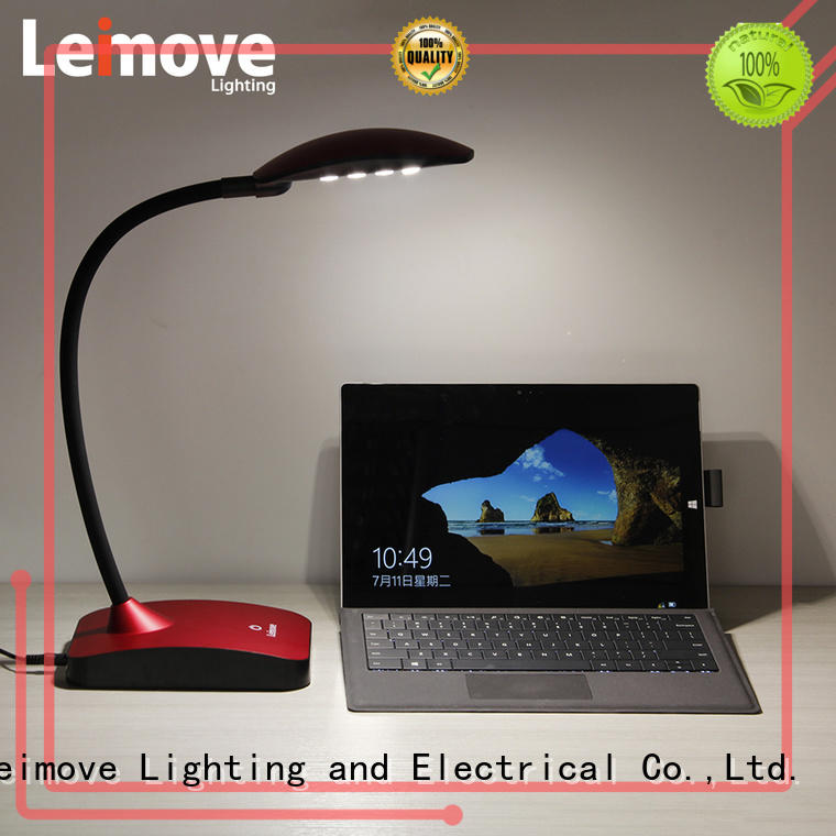 Leimove black led study lamp by bulk for student