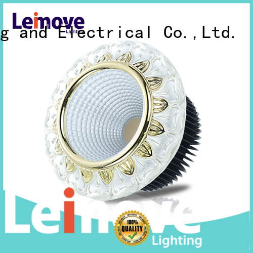Leimove gold high power led spotlight ultra bright for decoration