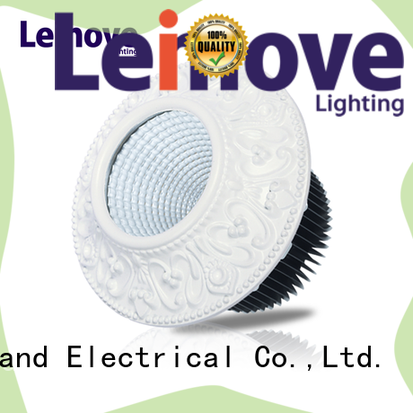 Leimove energy-saving dimmable led downlights white milky for sale