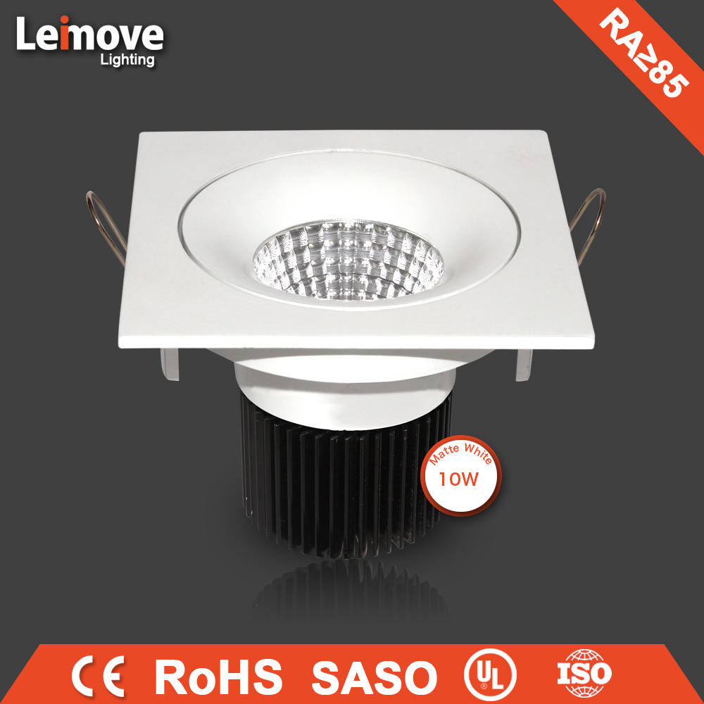 CCC SAA CE approved 3W 5W 9W 12W dimmable led downlight slim