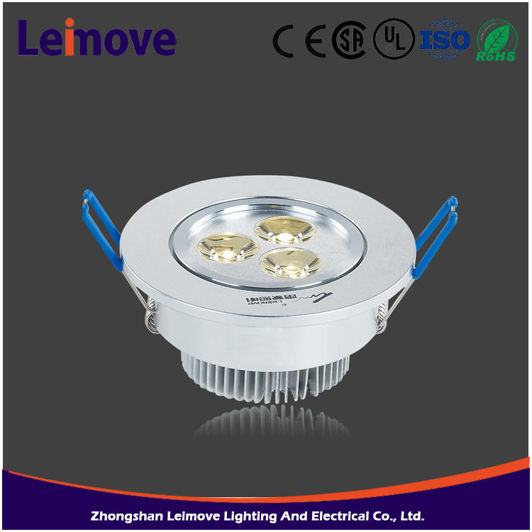 LED downlight 5W COB recessed ic-f rated ceiling led downlight