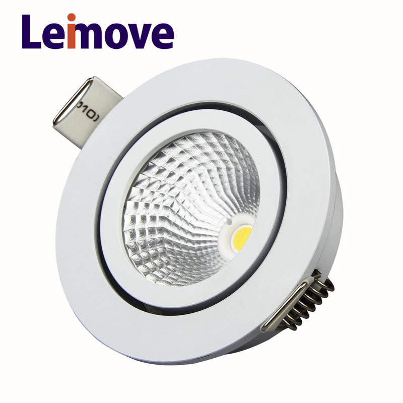 2018 new cob led recessed down light 5w