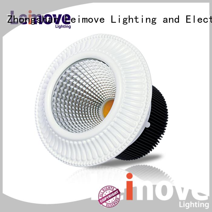 Leimove gold led spot light ceiling for wholesale