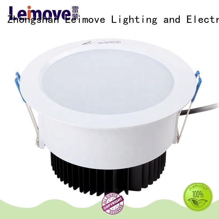 Leimove anti-dazzling bathroom led downlights custom made for customization