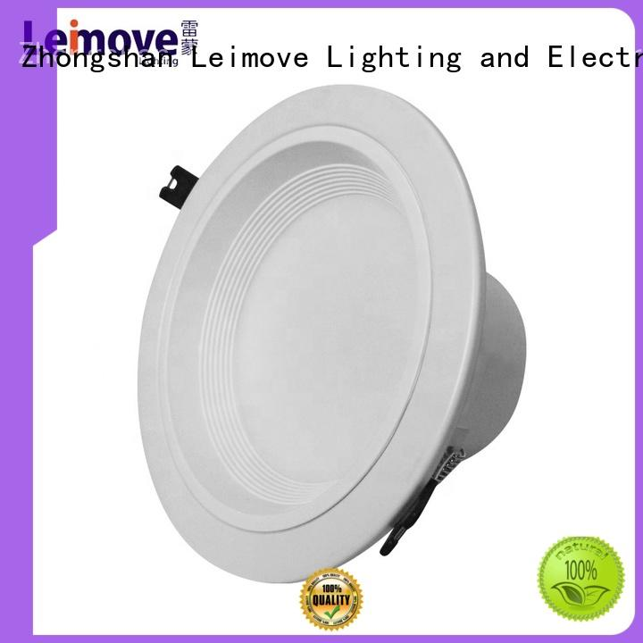 commercial illumination led recessed downlights energy-saving white milky for wholesale