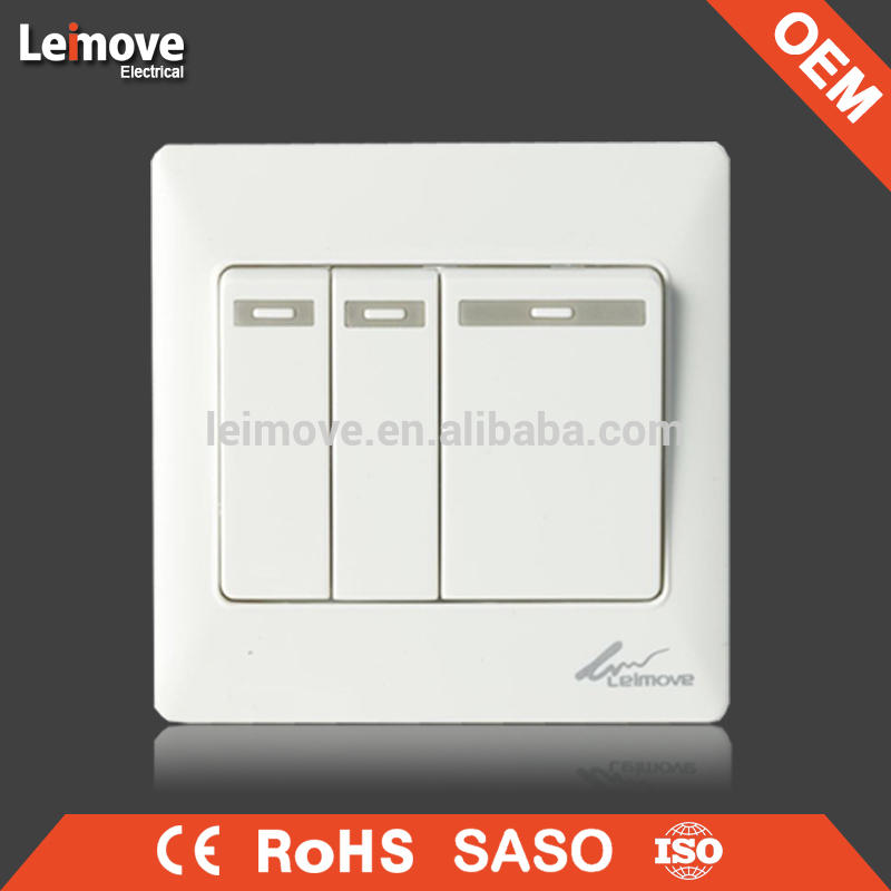 OEM supplier wireless control 10A 250V voice control light switch