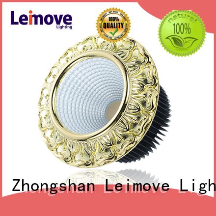 Leimove round shape high power led spotlight ultra bright